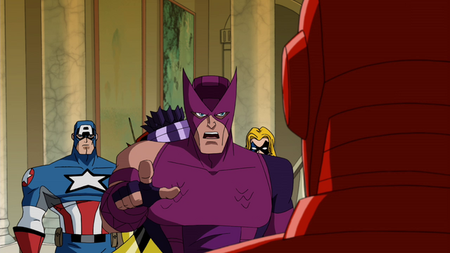 File:Hawkeye calls out Iron Man AEMH.png