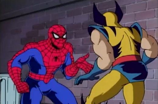 File:Peter Parker & Wolverine (Logan) (Earth-92131).jpg