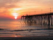 Kure-Beach-Fishing-Pier-at-Sunrise-Wilmington-NC mr