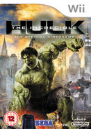 Hulk Wii UK cover