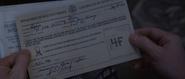 Steve Rogers - Denied Enlistment Form