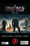 Captain America Civil War Prelude -3 cover