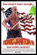 Simon Williams Toxic Janitor 2 Poster