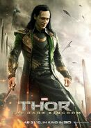Loki dark world german poster