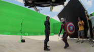 Ant-Man with Cap's Shield (Atlanta, GA - The Making of CACW)