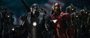 War Machine & Iron Man (MK6)