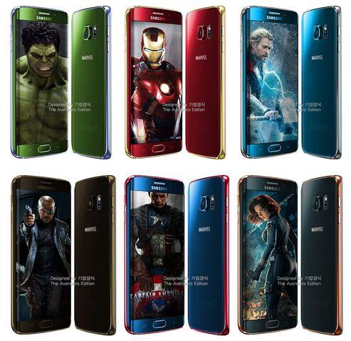 File:Samsung Galaxy S6 - Avengers Edition.jpg