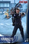 Hawkeye Civil War Hot Toys 1