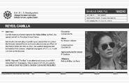 Camilla Reyes File