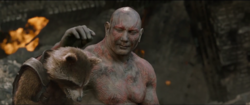 Drax-Comforts-Rocket-Guardians