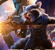 Rocket from poster