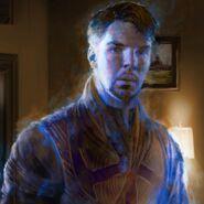 Astral Doctor Strange Concept