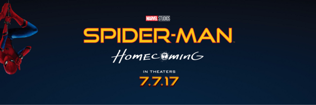 File:Spider-Man Homecoming Banner.png