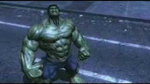 The Incredible Hulk The Game-Official Trailer 1