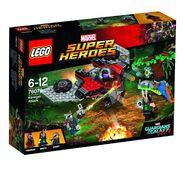 GOTG2 Lego Ravagerattack1