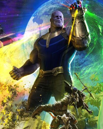 Thanos | Marvel Cinematic Universe Wiki | FANDOM powered ...