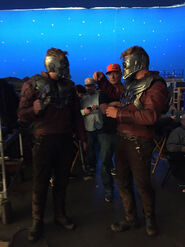 Starlord BTS Wrap