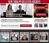 New York Bulletin website