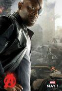 Nick Fury AOU Poster