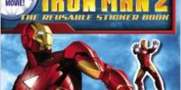 Iron Man 2: The Reusable Sticker Book