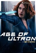 Avengers Age Of Ultron Unpublished Character Poster e JPosters