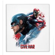 CW promo Captain America Iron Man