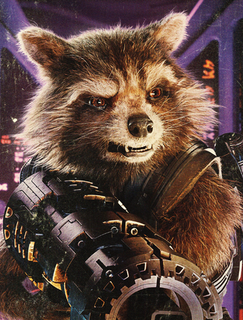 Personality ... MBTI Enneagram Rocket Raccoon (Guardians of the Galaxy) ... loading picture
