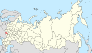 Map of Kursk