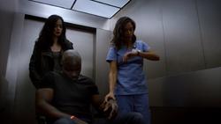 JJS01E13 Claire checks Luke pulse