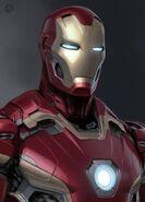 Iron Man's Mark 45 Armor Concept Art 04