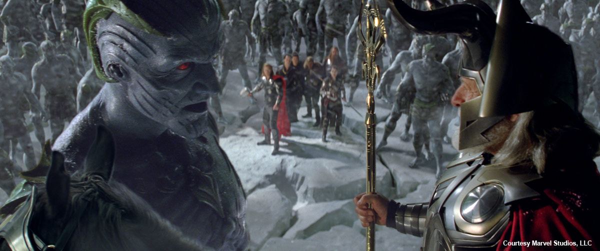 Image - Laufey and Odin.jpg | Marvel Cinematic Universe ...