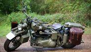 Cap WWII Motocycle