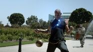 Absorbing Man taser