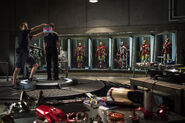 Iron Man 3 set pic
