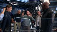 The Avengers filming 2