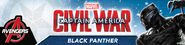 Black Panther Civil War promo
