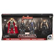 The Avengers Age of Ultron 4 Figuer pack Thor Black Widow Bruce Banner and Hawkeye