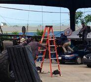 Film set pic Captain America 2 01