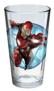 Civil War Iron Man glass