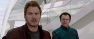 Star-Lord and Rhomann Dey