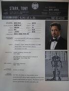 S.H.I.E.L.D. Tony Stark file