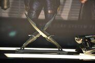 Drax's daggers