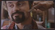 Celebration Montage Man Shaving Beard