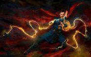 Doctor Strange Magic Concept Art