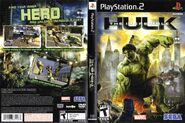 Hulk PS2 US Box