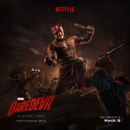 Daredevil vs The Hand poster