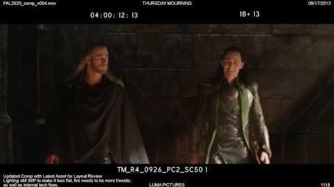Marvel's Thor The Dark World - Deleted Scene 1 - Loki as Captain America