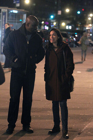 File:Mike and Rosario Luke Cage BTS 30.jpg