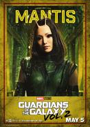 Mantis GOTG2 Poster