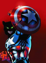 Captain America Marvel Werewolves
